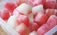 Лед из фруктового сока при повышенной жирности кожи