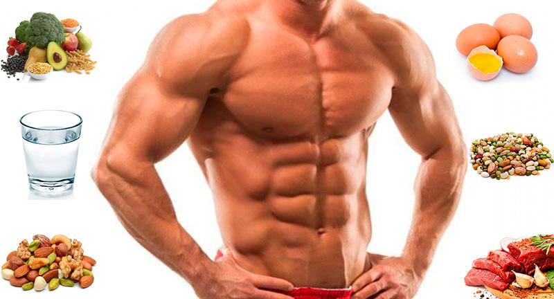 Диета при наборе мышечной массы для мужчин