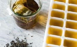 Рецепты льда для лица из ромашки, петрушки, чая, от прыщей и морщин