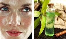 Как улучшить кожу лица маслом чайного дерева
